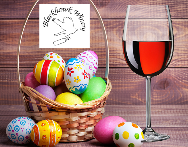 April 20 – Adult Easter Egg Hunt @ Blackhawk Winery!