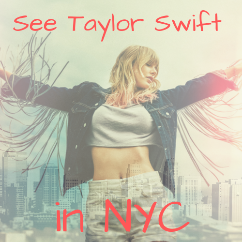 Win a Trip to NYC for a Private Concert with Taylor Swift!