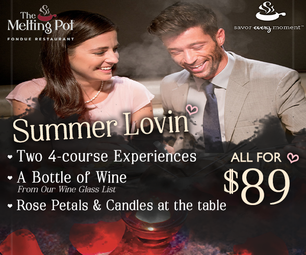 Win a Summer Lovin' Dining Experience at The Melting Pot!