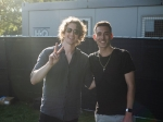 Tommy Talks With Dean Lewis At Lollapalooza