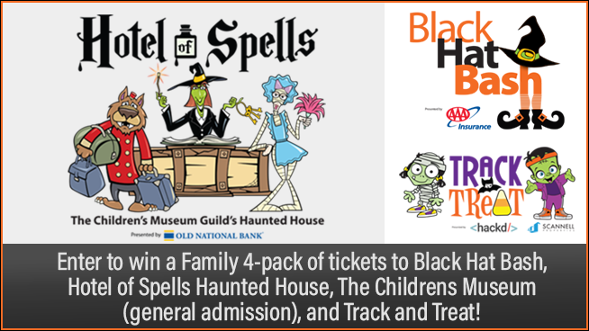 Win a Haunted Prize Pack from The Children's Museum Guild's Haunted House – Hotel of Spells!