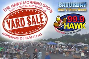 999 The Hawk Spring Cleaning Yard Sale