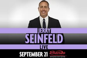 999 The Hawk Welcomes Jerry Seinfeld to Sands Bethlehem Event Center