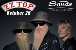 99.9 The Hawk Welcomes ZZ Top to Sands Bethlehem Event Center!