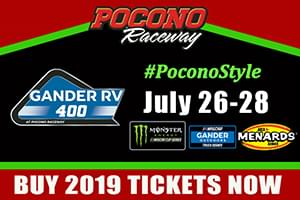 NASCAR Gander Outdoors 400 Free Tickets Weekend