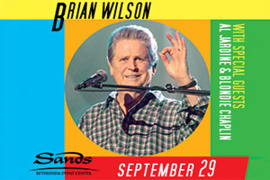 Brian Wilson at The Sands Event Center on September 29th