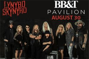 The Hawk Welcomes Lynard Skynard to BB&T Pavilion August 30th!