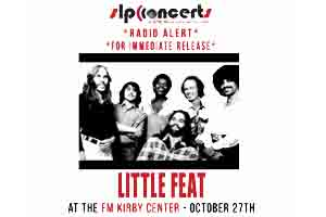 Little Feat at Kirby Center October 27th
