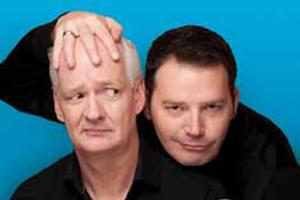 Colin Mochrie and Brad Sherwood at the State Theatre November 16th