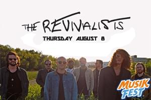 Spin Radio Presents The Revivalists at Musikfest