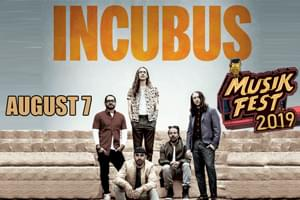 Spin Radio Presents Incubus at Musikfest