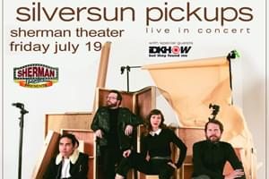 Spin Welcomes Silversun Pickups to Sherman Theater