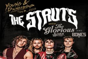 The Struts at Sherman Theatre on July 19
