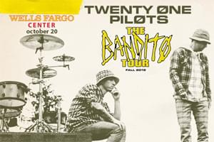 Spin Radio Welcomes Twenty One Pilots to Wells Fargo Center October 20th!