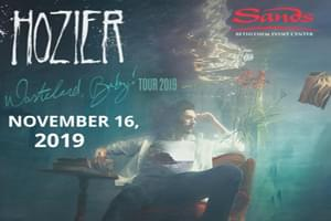 Hozier at The Sands Event Center on  November 16th