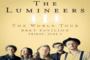 The Lumineers at BB&T Pavilion June 5, 2020
