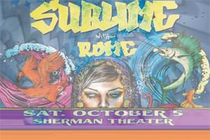 Sublime with Rome at Sherman Theater October 5