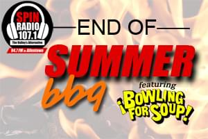 SPIN RADIO'S End Of Summer BBQ featuring Bowling For Soup