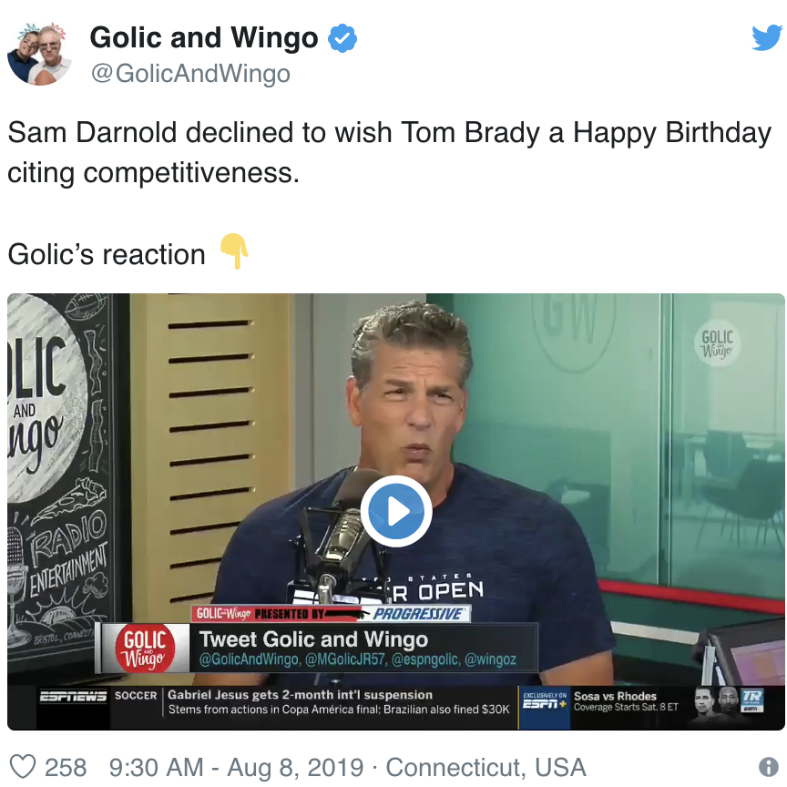 Golic and Wingo | ESPN 630AM
