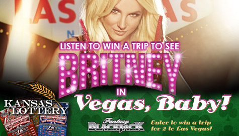 WIN a trip to see Britney in VEGAS from Kansas Lottery