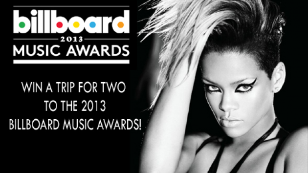 Win a trip for two to the 2013 Billboard Music Awards!