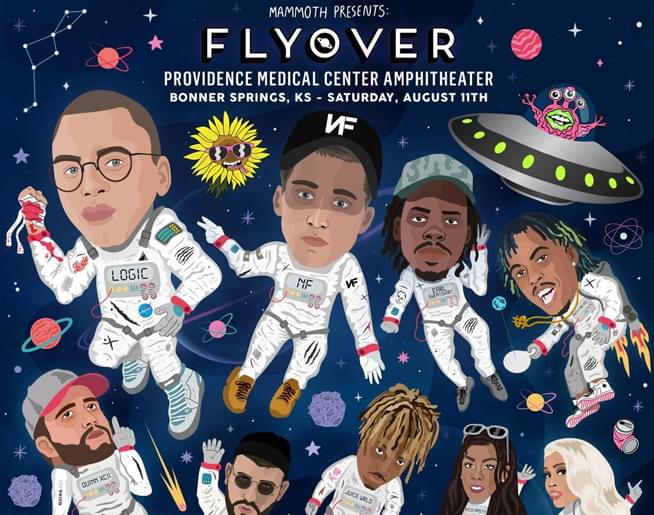 Flyover KC featuring Logic & NF on August 11th