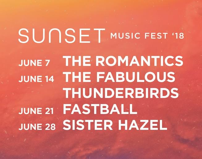 sunset music fest