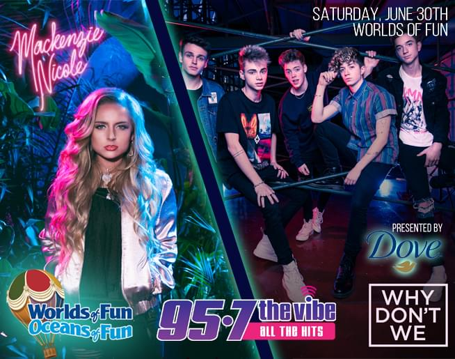 Mackenzie Nicole & Why Don't We at Worlds of Fun presented by Dove!