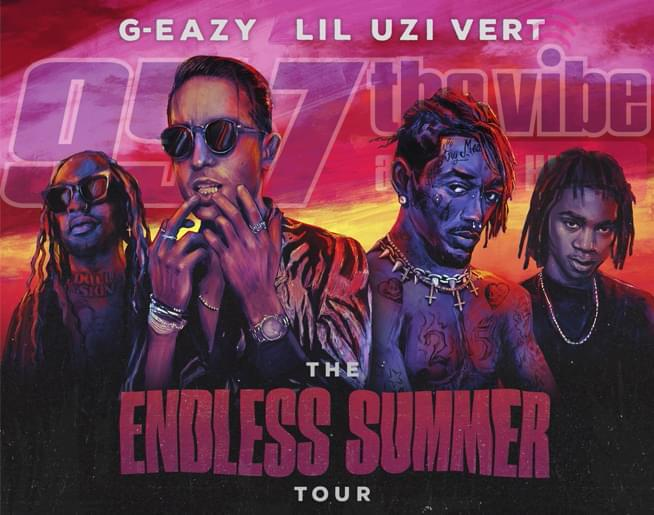 95-7 The Vibe welcomes The Endless Summer Tour