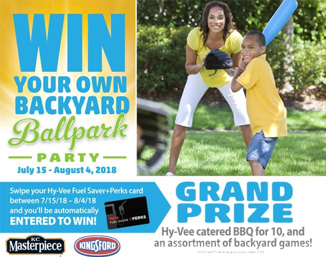 Win a Backyard Ballpark Party!