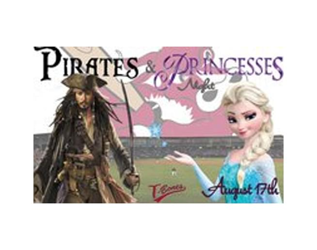 Pirates & Princesses Night with the T-Bones – August 17