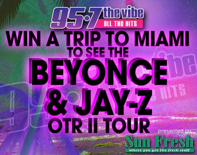 Win a trip to Miami to see Beyoncé and Jay-Z!