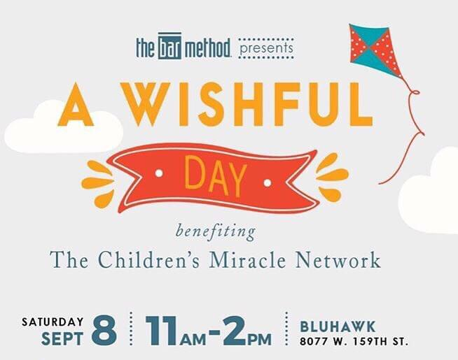 """Children's Miracle Network's """"A Wishful Day"""" on September 8"""