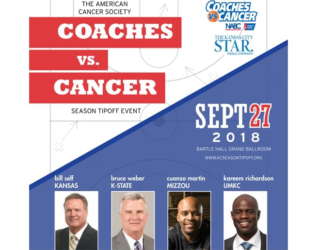 Coaches vs Cancer – Season Tipoff Event on Sept. 27