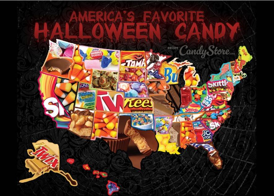 2018's Most Popular Halloween Candies to Hand Out in All 50 States