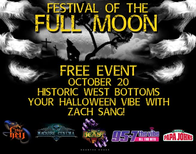 Festival of the Full Moon – Oct. 20 – Free Event