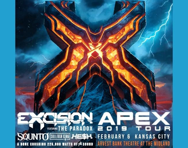 EXCISION featuring The Paradox // 2.6.19