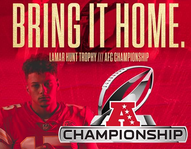 Listen to WIN AFC Championship Tickets at Arrowhead Stadium on Sunday!
