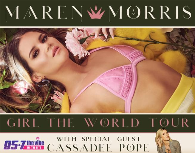 95-7 The Vibe welcomes Maren Morris!