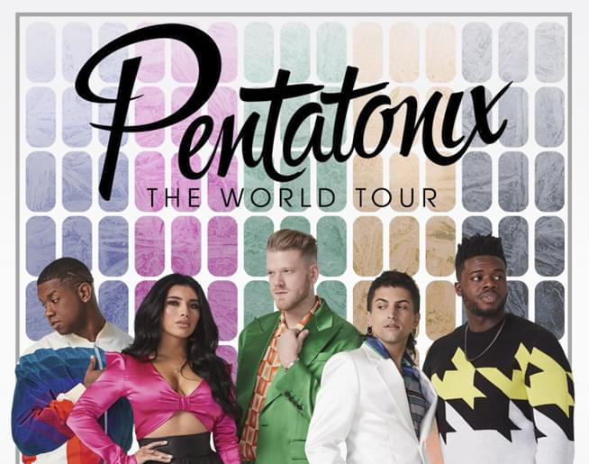 Pentatonix: The World Tour August 13th at Starlight Theatre
