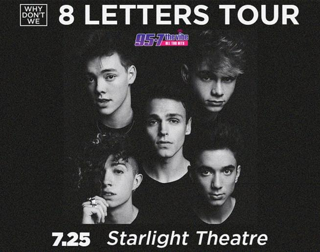 Why Don't We // 7.25.19 @ Starlight Theatre