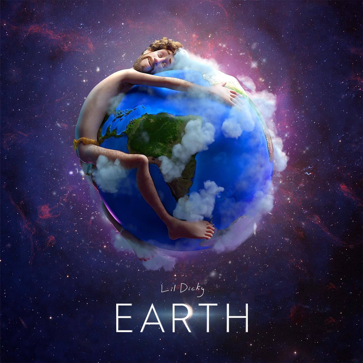 HERES the FEATURE LIST on LIL DICKY'S new EARTH tune!