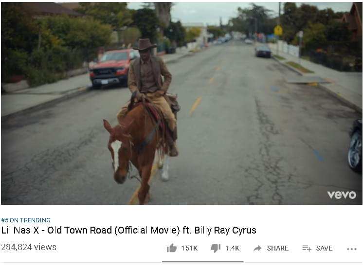 THE VIDEO IS FINALLY HERE…LIL NAS X
