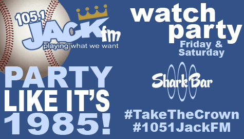 Party like it's 1985 with 105.1 JACK-FM!
