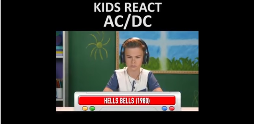 These Kids Reaction to AC/DC is Priceless