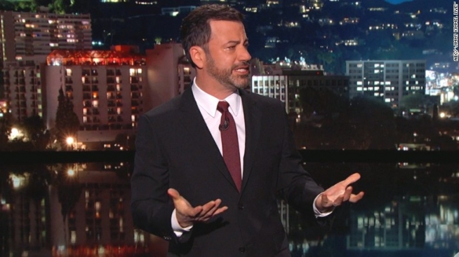 Jimmy Kimmel gets real talking about his newborn's open heart surgery