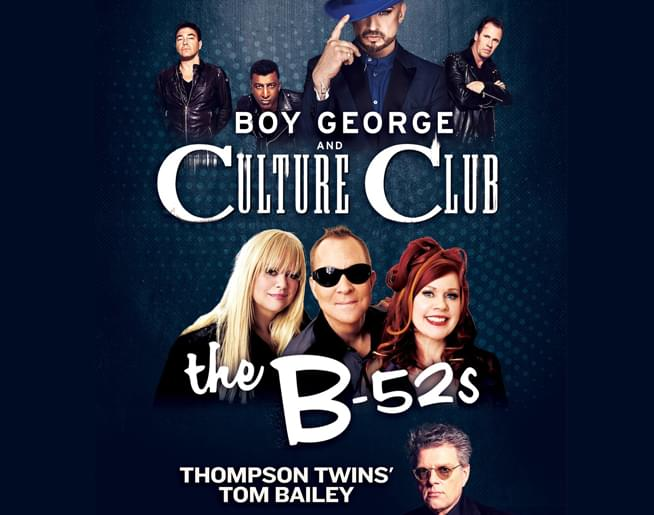 Boy George & Culture Club The B-52s – Starlight Theatre – Sept 7