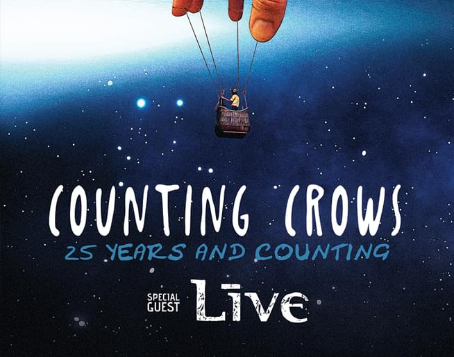 JACKFM Welcomes Counting Crows and LIVE