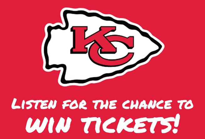 Listen for the chance to win Chiefs tickets!