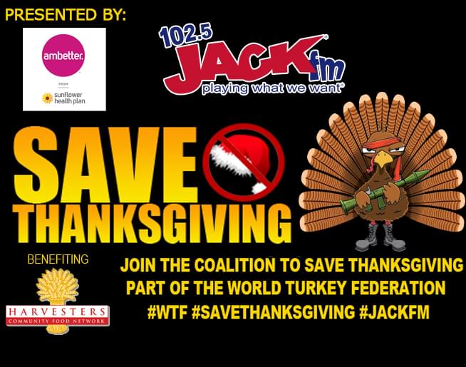 Join the Coalition to Save Thanksgiving! Presented by Ambetter